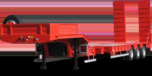 Тралы <span>(полуприцепы-тяжеловозы)</span> с раздвижной платформой